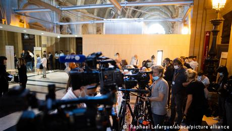The trial at the Palais de Justice in Paris courted immense media interest