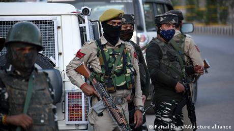 India-administered Kashmir is reportedly seeing a surge of foreign militants