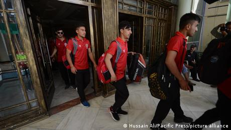 The Afghan men's cricket team was due to face Australia's in November for the first time