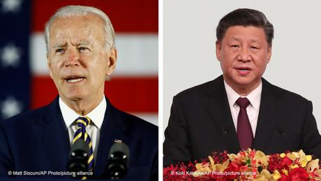 The talks between Biden and Xi come amid heightened tensions between the two economic powerhouses
