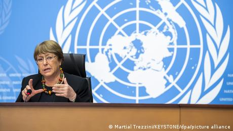 In a speech before the UN Human Rights Council Monday, high commissioner Bachelet slammed the new Taliban government for abuses since they captured th...