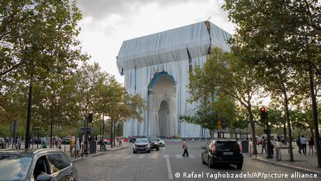 The wrapping of the Arc de Triomphe is being overseen by the nephew of the late artist, Christo