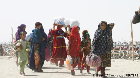 Even before the Taliban took over, around half of the population required humanitarian aid