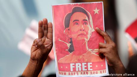 Aung San Suu Kyi has spent half of the past three decades under some form of detention in Myanmar