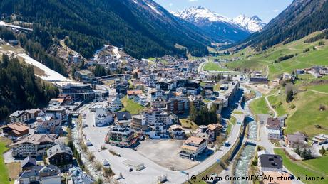 """The COVID-19 outbreak in Ischgl is considered one of Europe's earliest """"super-spreader'' events"""