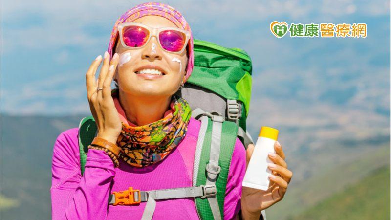 山上陰涼、紫外線強更容易曬傷!  皮膚科醫列「防曬4寶」