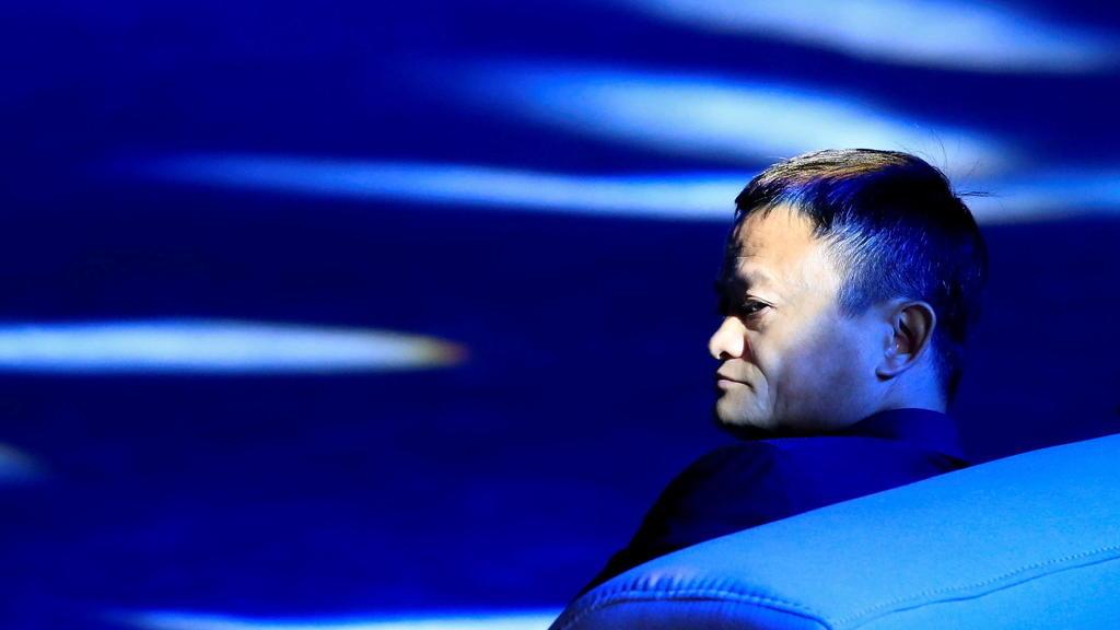 圖為阿里巴巴創辦人馬雲(圖片來源:France 24)