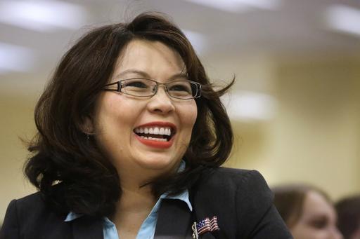 Illinois Democratic U.S. Senate candidate, Rep. Tammy Duckworth