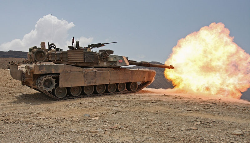 """A high-ranking military officer said the MND is """"negotiating"""" with the U.S. over the arms sales of M1A1"""
