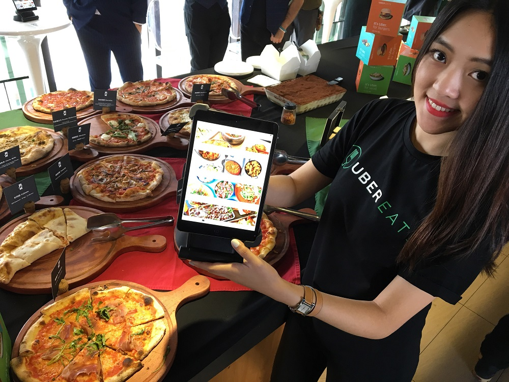 Authorities say launch of Uber EATS in Taipei illegal