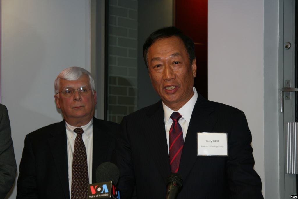 Terry Gou reportedly eyeing presidential run in 2020
