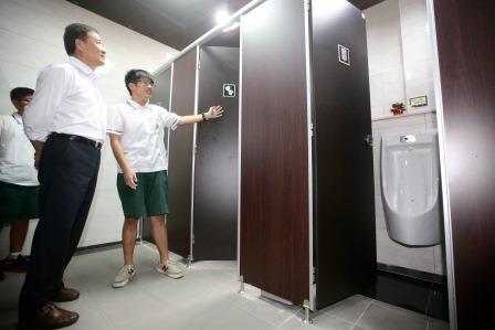 Taipei high school opens first gender neutral restrooms in for Gender neutral bathrooms in schools