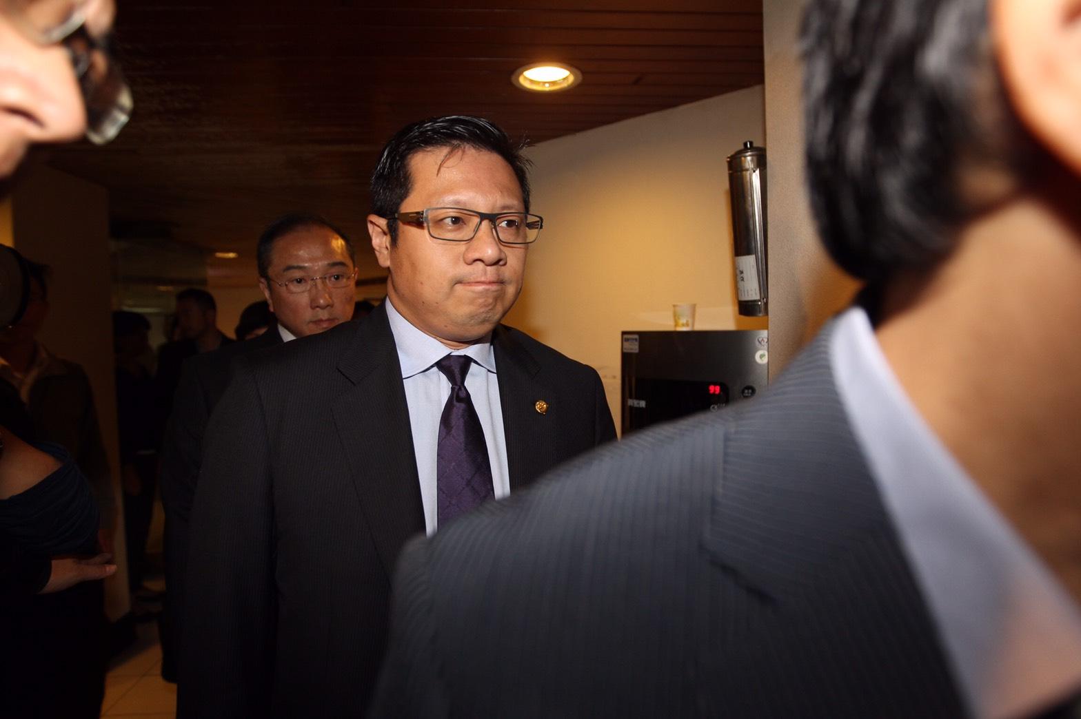 TransAsia Chairman Vincent Lin.