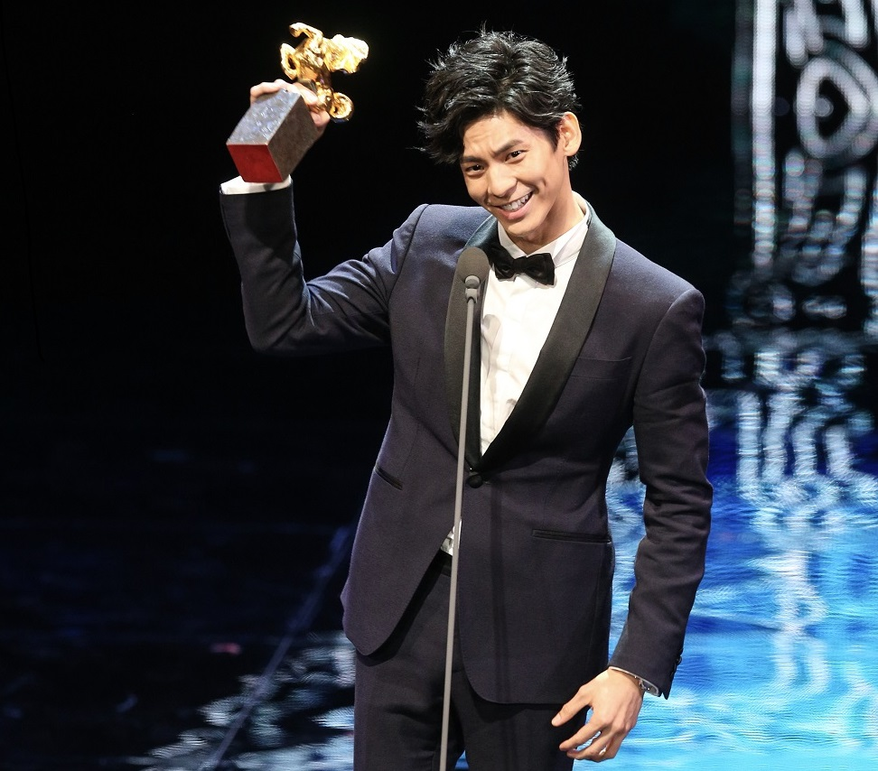 Taiwanese actor Austin Lin (林柏宏) won the best supporting acting awards at the Golden Horse Awards.