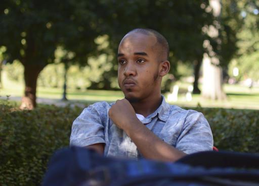 Image provided by TheLantern.com shows Abdul Razak Ali Artan in Columbus, Ohio