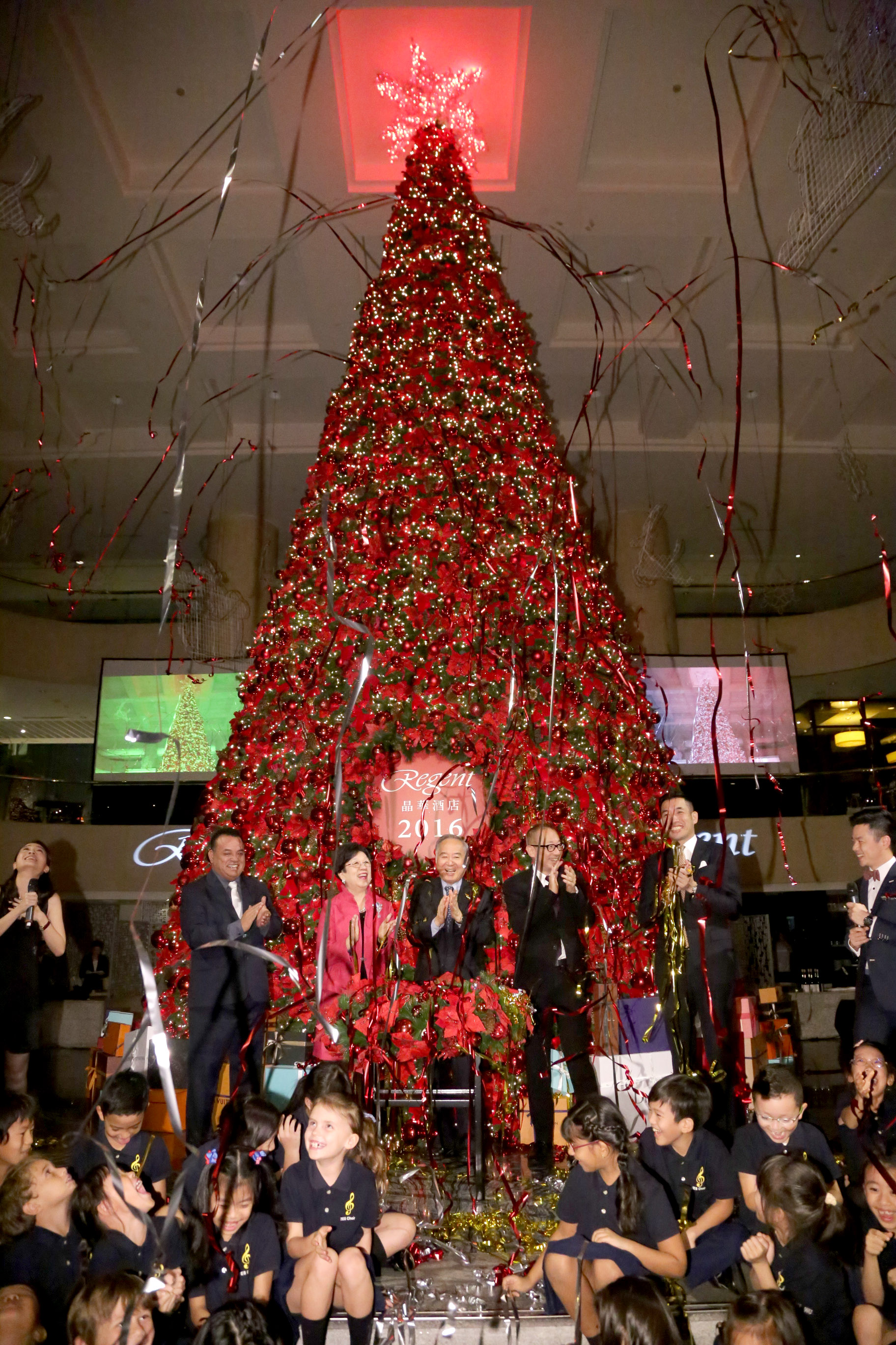 Regent Taipei To Light The Largest Christmas Tree Among The Country S Five Star Hotels Taiwan News