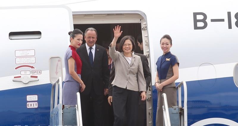 英捷專案啟動! 蔡總統一月訪中美洲4友邦