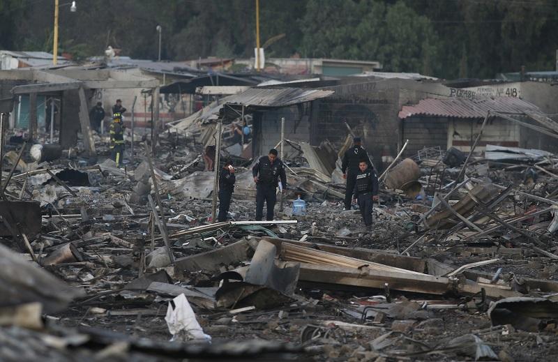 【影片】墨西哥煙火市集爆炸 造成至少26死 70傷