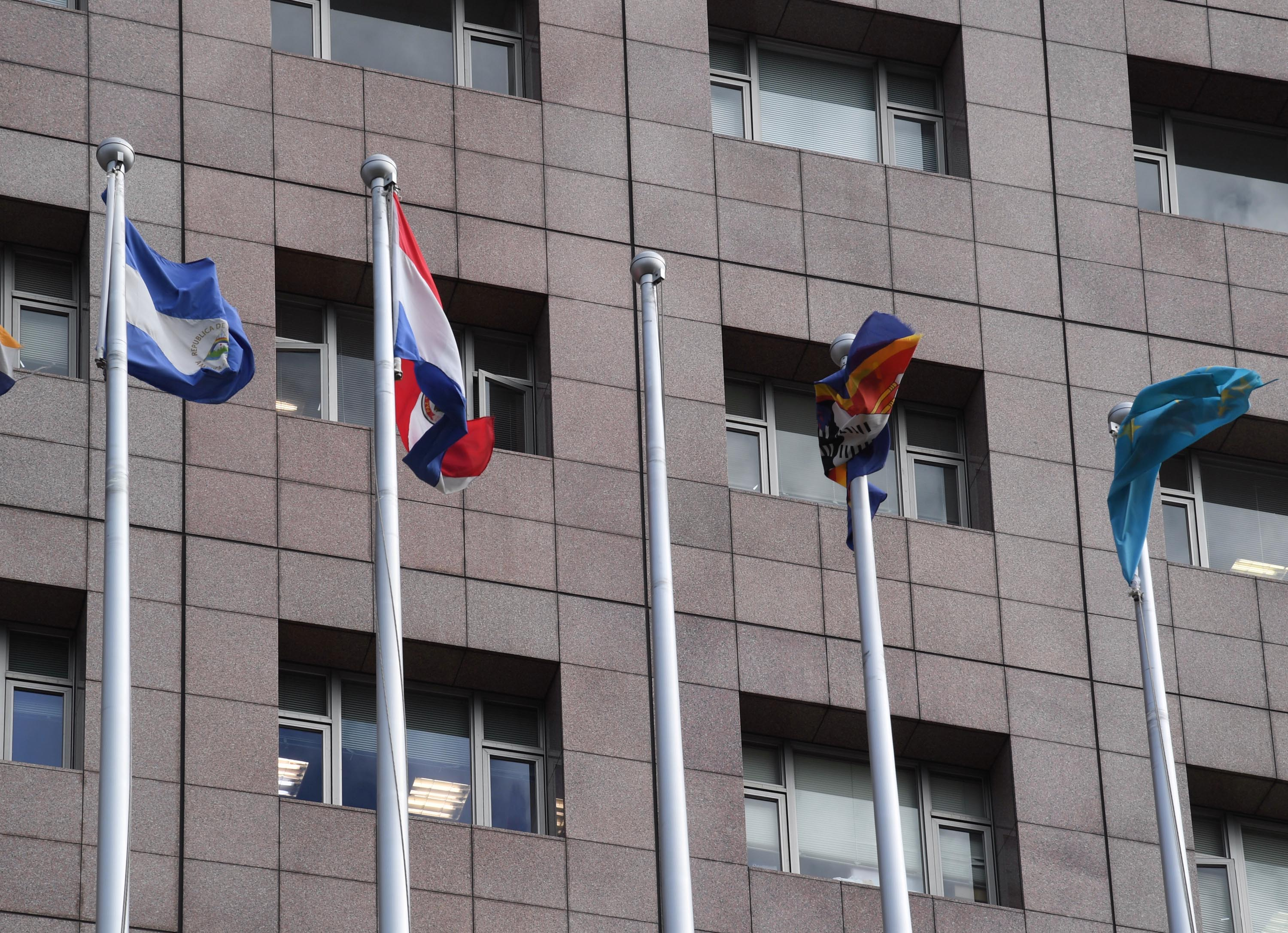Taiwan removes flag of Sao Tome and Principe from official buildings.