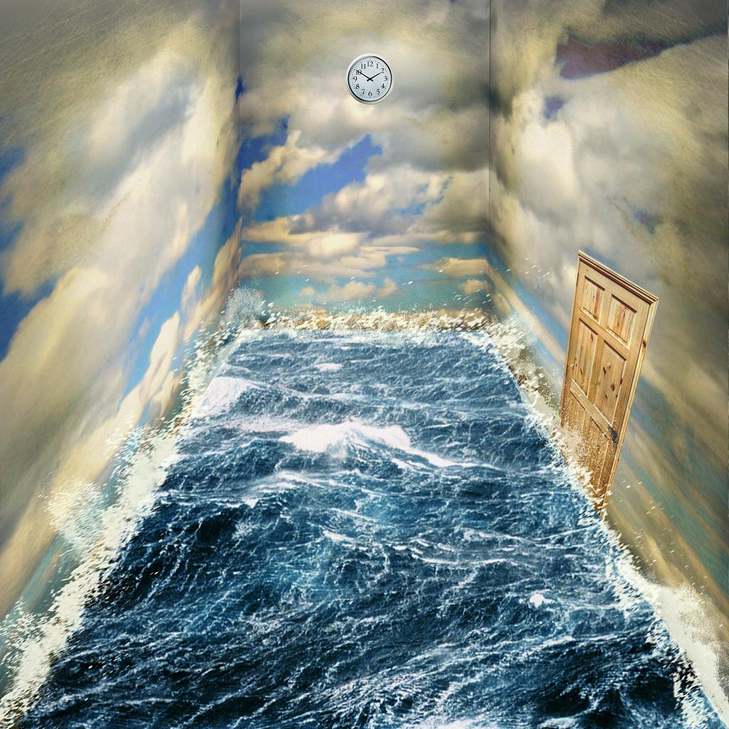 圖片為英國 Brad Higham以超現實房間為題創作的系列作品之一。