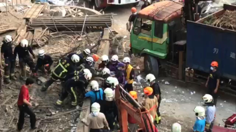 Five die in Taoyuan scaffolding collapse