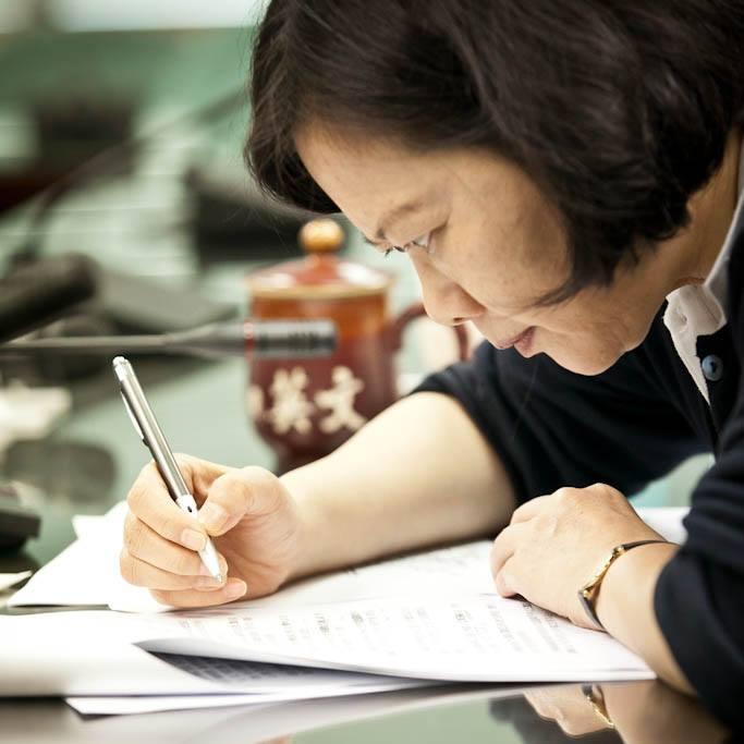President Tsai Ing-wen's official Facebook profile photo.