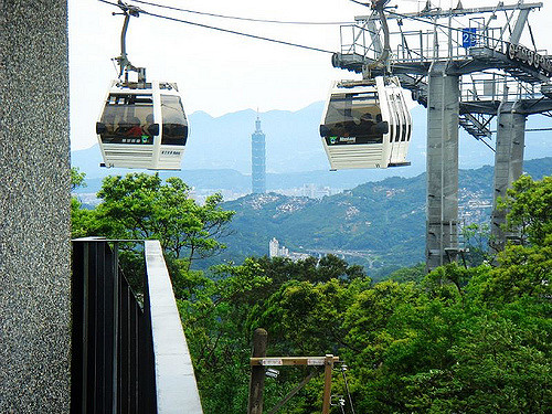Taipei Rapid Transit Corporation (TRTC) said Monday that the opening hours of the Maokong Gondola on New Year's Eve will be extended...(photo source: ...