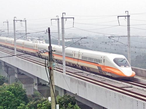 Taiwan's high speed rail train.