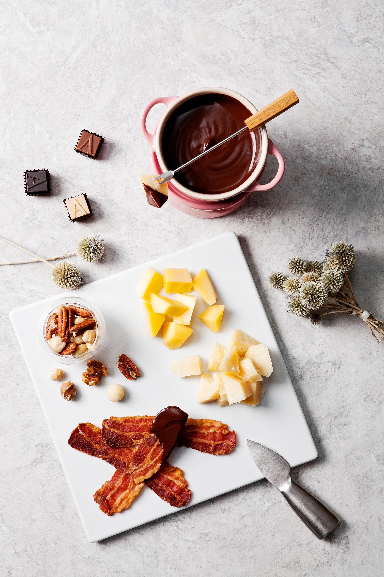 寒舍艾麗酒店【ARMANI/DOLCI 頂級巧克力鍋】 時尚設計大師的奢華工藝食譜