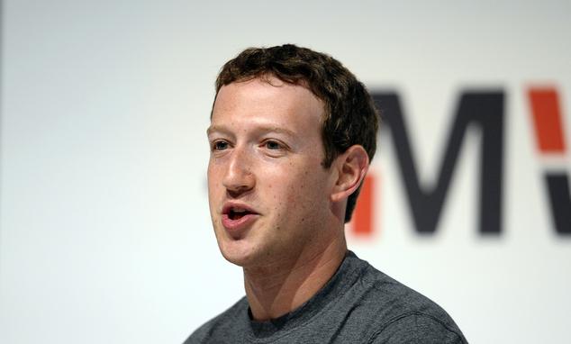 臉書創辦人馬克•祖克柏。(圖片來源:Associated Press)