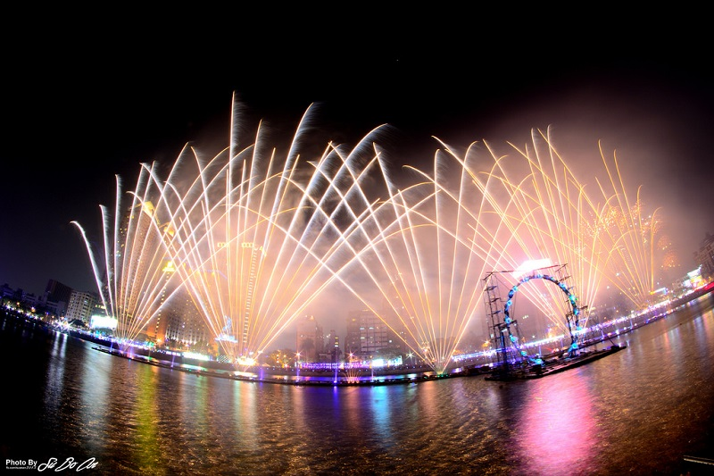 The 2017 Kaohsiung Lantern Festival, which is to last two weeks beginning on Jan. 30, will feature daily fireworks displays, light and dancing fountai