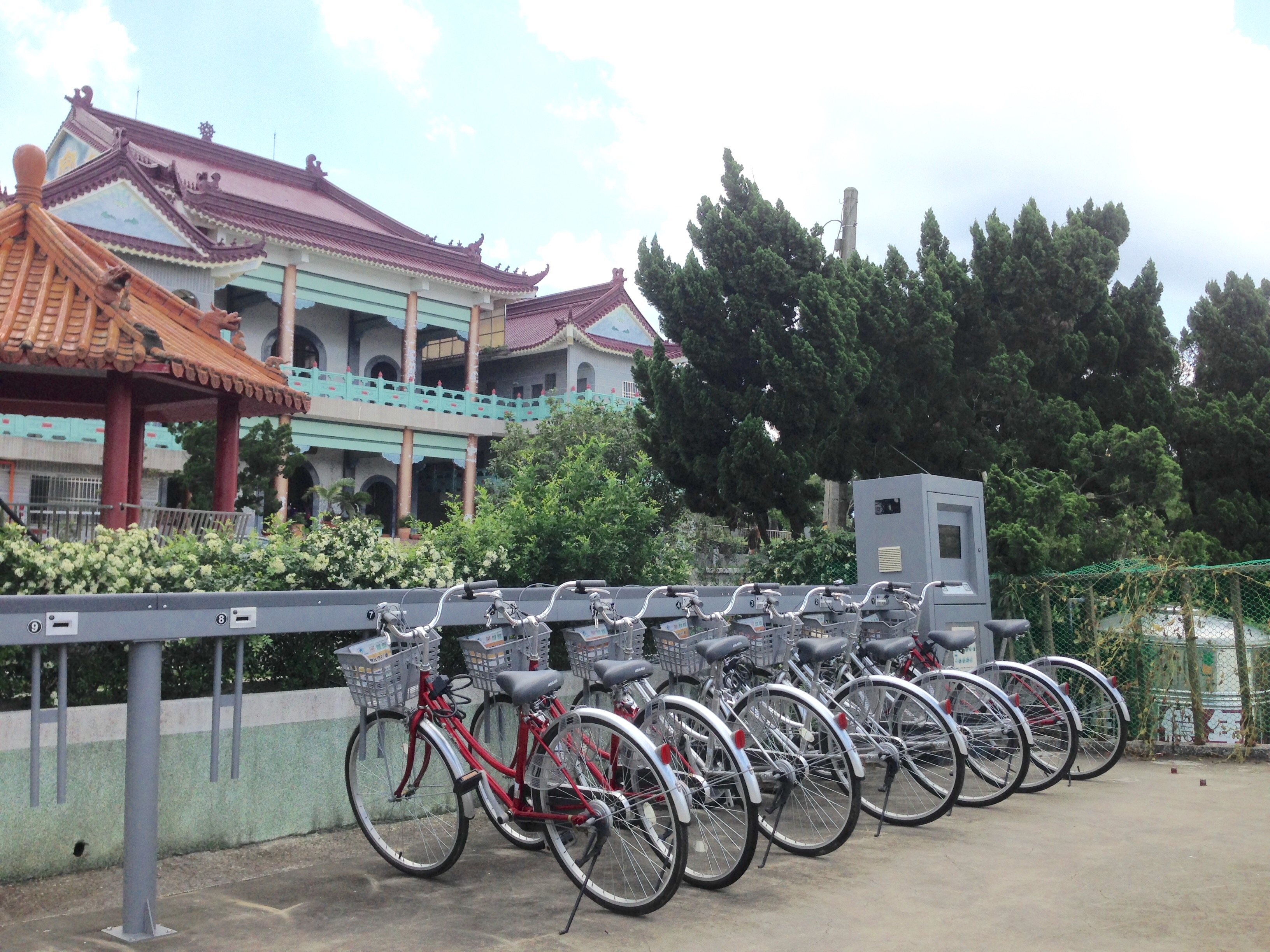 T-Bike station in Tainan.