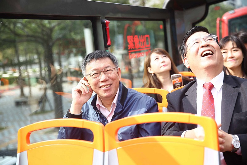 Taipei launches double-decker sightseeing buses