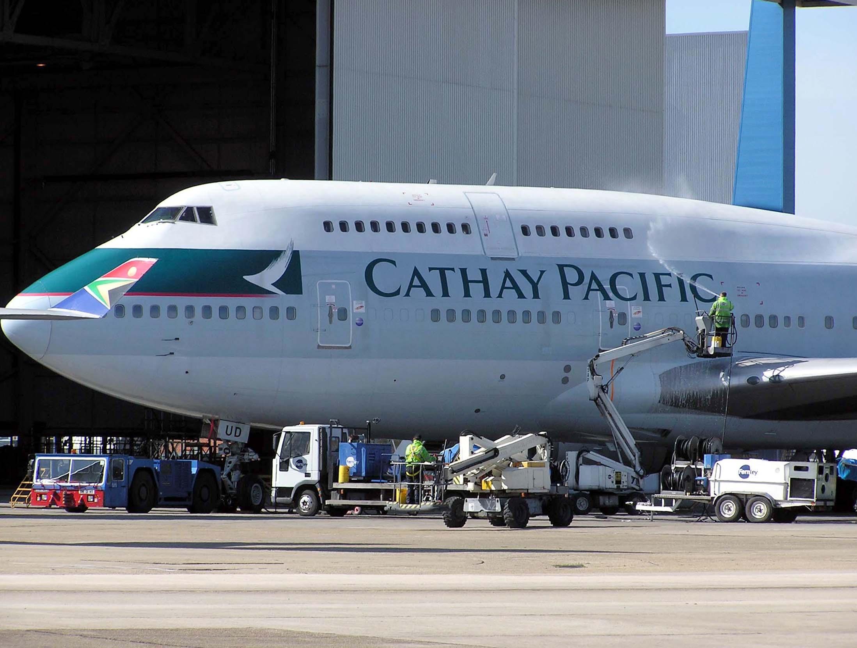 國泰航空747機隊去年退役。圖片來源:維基百科