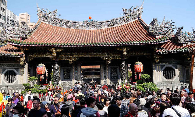 Image result for biggest temple in taipei