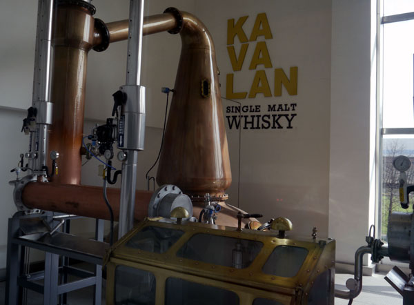 Kavalan distilling