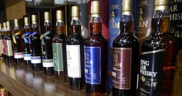 Kavalan whiskies