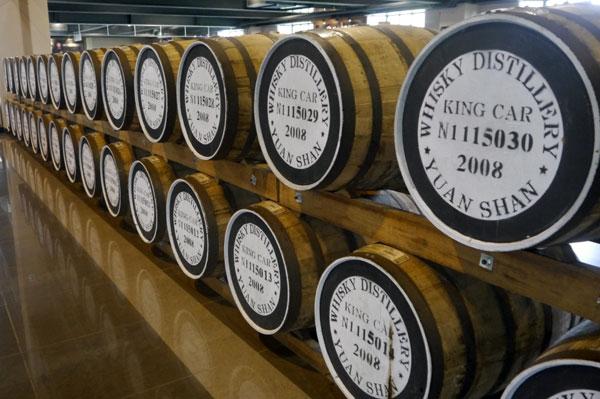 Kavalan whisky casks