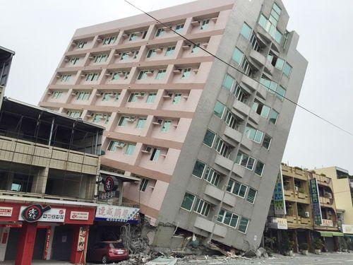 Magnitude 4.3 natural disaster hits Tainan