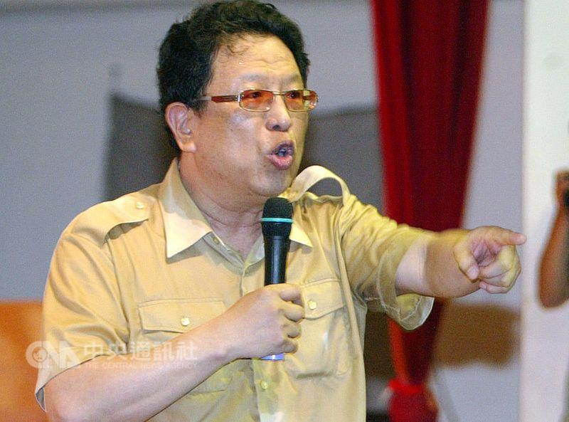 Talk show host Wang Ben-hu.