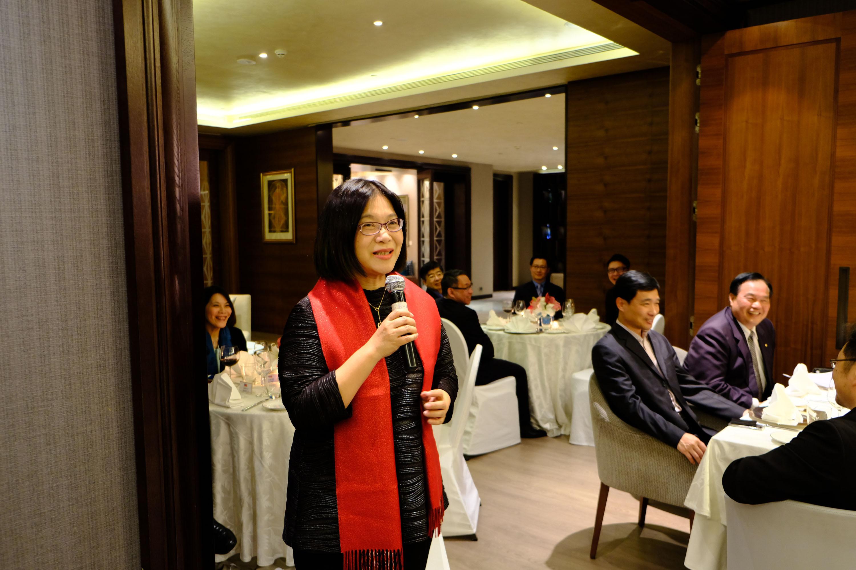 DPP legislator Kuan Bi-ling and the delegation visit India.