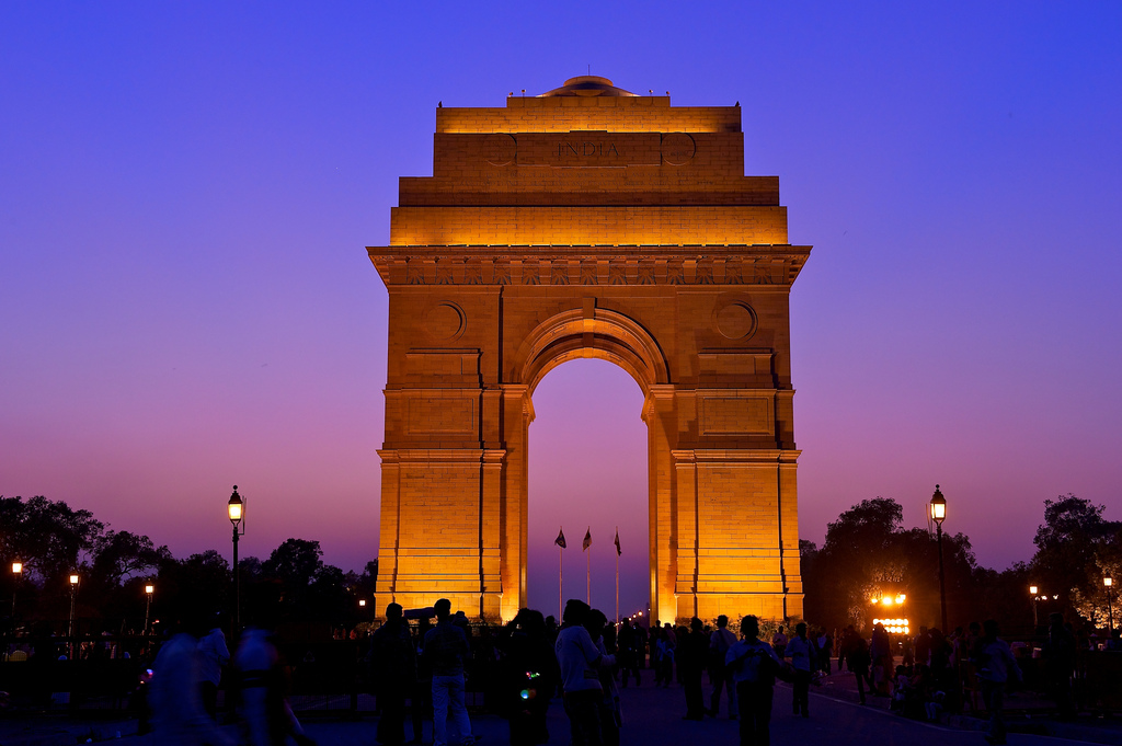 The India Gate, New Delhi | by Larry Johnson (Flickr)
