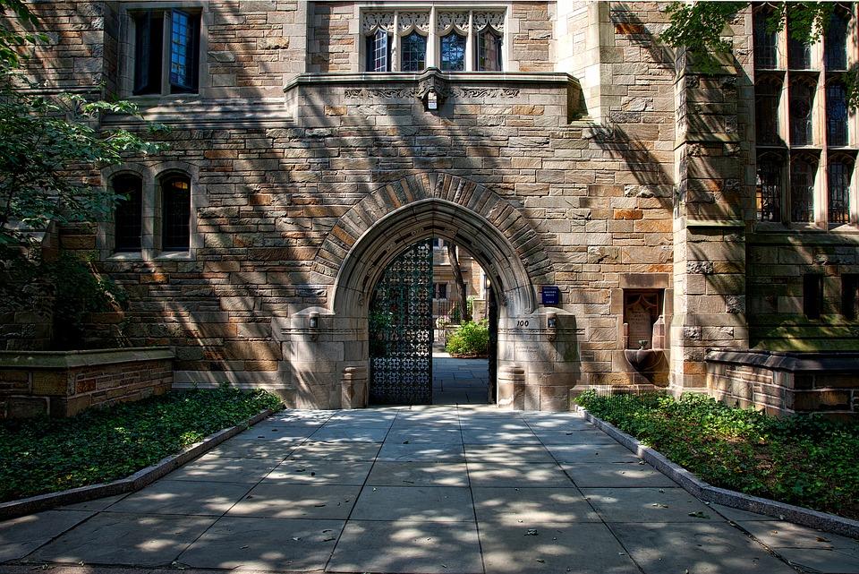 圖為耶魯大學一景。(圖片來源:Max Pixel)