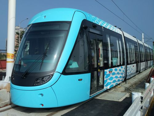 The Danhai LRT.