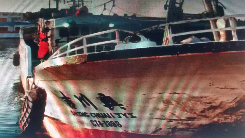 琉球漁船被扣押在緬甸月餘 繳1萬美元「罰款」後獲釋