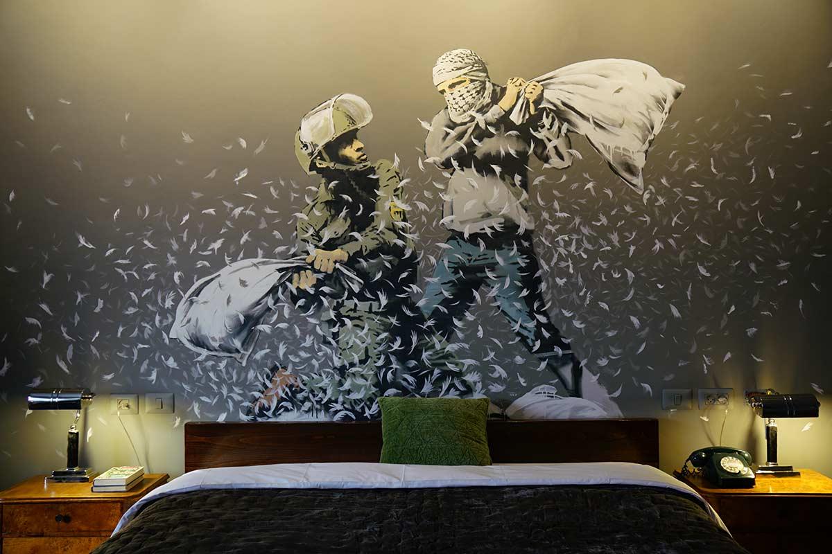 歡迎入住「全球景色最差飯店」 醜圍牆期待打破以巴藩籬