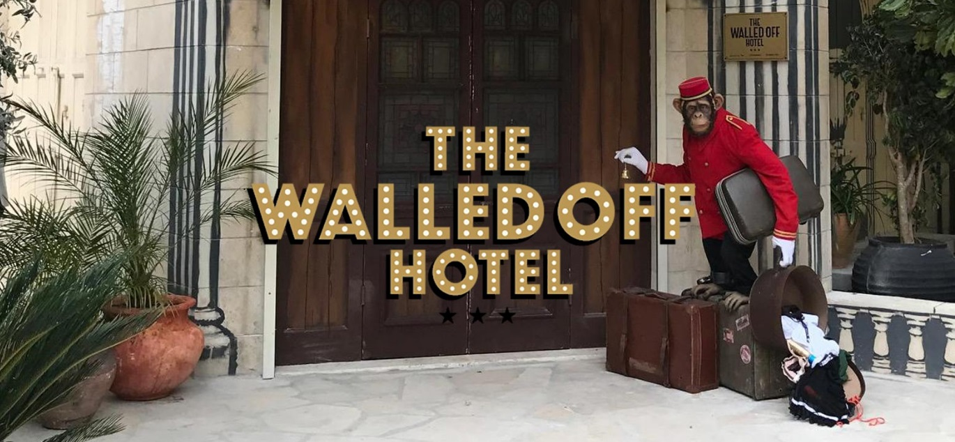 The Walled Off hotel位在伯利恆,是巴勒斯坦西部城市。(圖片來源:The Walled Off hotel)