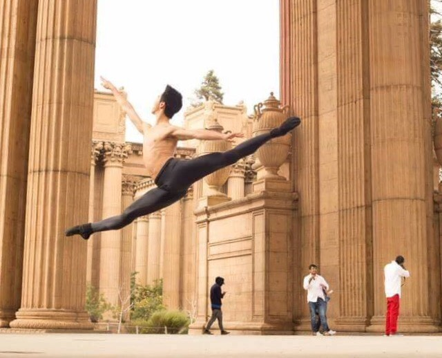 Taiwan ballet dancer George Liang (梁秩傑) (Image by Mandi Lynn)