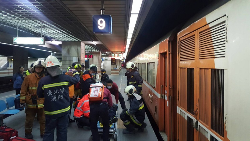 On Sunday a male became the latest casualty in a string of train accidents in Taiwan after the turn of the year.