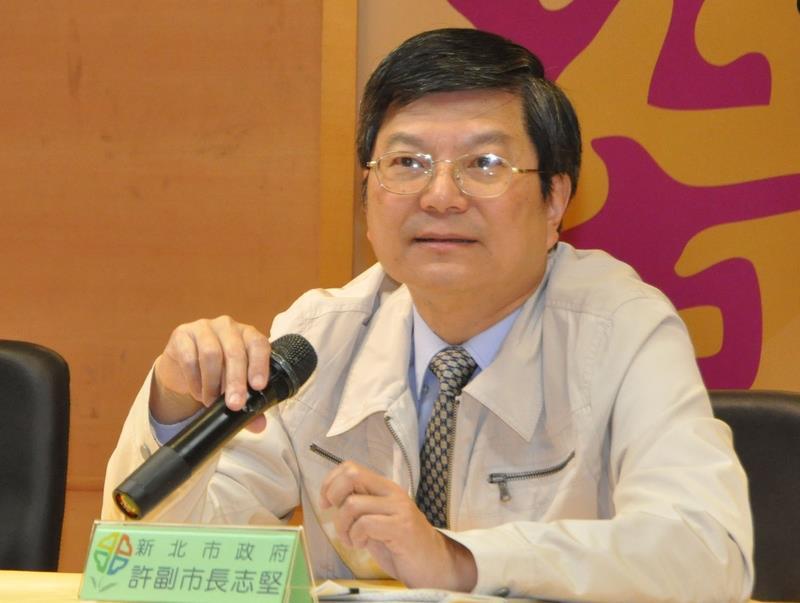 Former New Taipei Deputy Mayor Hsu Chih-chien (許志堅)